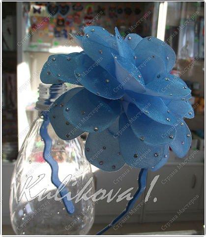 Мастер-класс Гильоширование: МК объёмного цветочка (Моя авторская работа,  Куликова Ирина ) Ленты. Фото 1