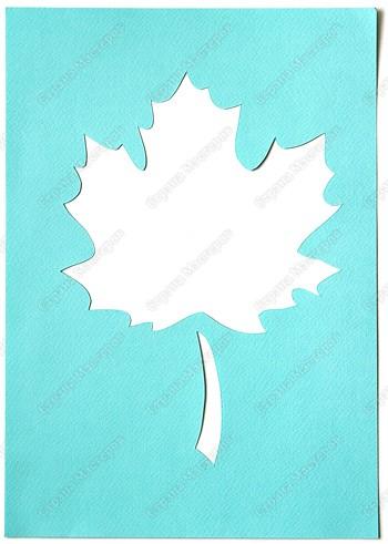 Возьмите кленовый лист