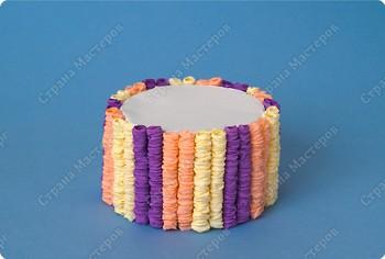 Как сделать торт из бумаги
