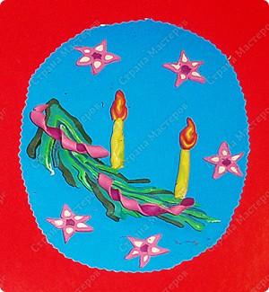ветка со свечами