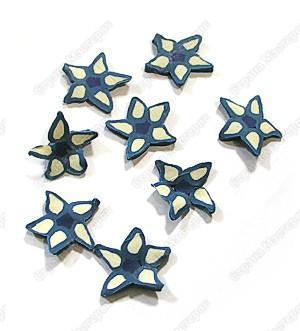 звёздочки после разрезания заготовки