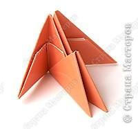 складывание модулей оригами