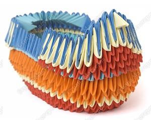 корабль модульное оригами