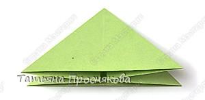 Мастер-класс Оригами: Базовая форма «Водяная бомбочка» Бумага