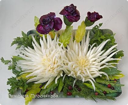 Кулинария, Мастер-класс Карвинг: Праздничный букет из... капусты Продукты пищевые