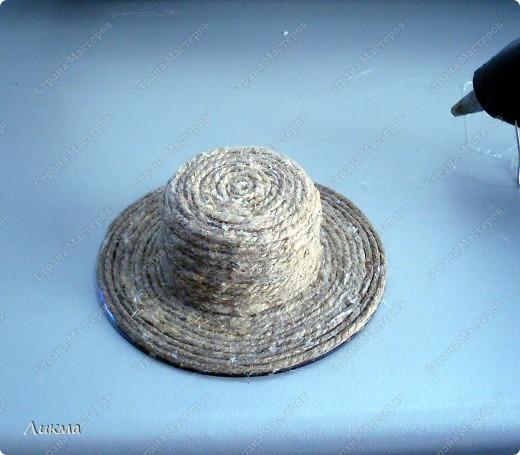 Мастер-класс: Делаем шляпку вместе Материал бросовый. Фото 1