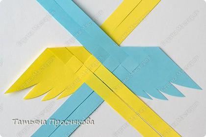 Мастер-класс, Поделка, изделие Плетение: Плетёные птички Бумага. Фото 8