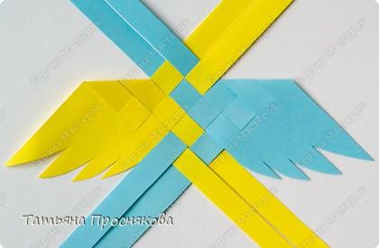 Мастер-класс, Поделка, изделие Плетение: Плетёные птички Бумага. Фото 9