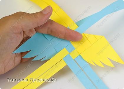 Мастер-класс, Поделка, изделие Плетение: Плетёные птички Бумага. Фото 10