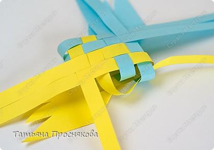 Мастер-класс, Поделка, изделие Плетение: Плетёные птички Бумага. Фото 15