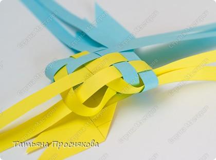 Мастер-класс, Поделка, изделие Плетение: Плетёные птички Бумага. Фото 16