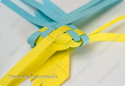 Мастер-класс, Поделка, изделие Плетение: Плетёные птички Бумага. Фото 17