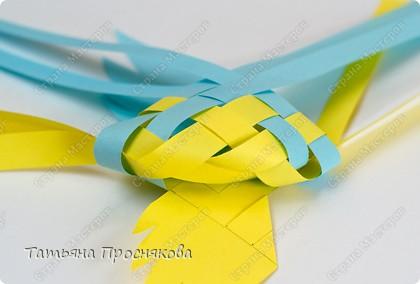 Мастер-класс, Поделка, изделие Плетение: Плетёные птички Бумага. Фото 18