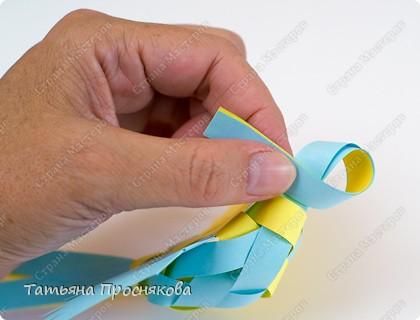 Мастер-класс, Поделка, изделие Плетение: Плетёные птички Бумага. Фото 22