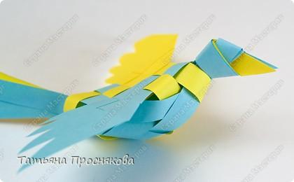 Мастер-класс, Поделка, изделие Плетение: Плетёные птички Бумага. Фото 23
