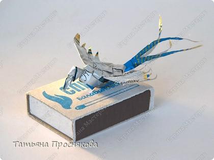 Мастер-класс, Поделка, изделие Плетение: Плетёные птички Бумага. Фото 25