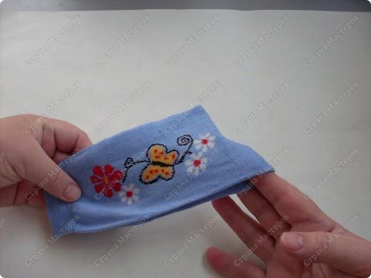 Мастер-класс,  Шитьё, : Сапожки для Снегурочки Носки . Фото 3