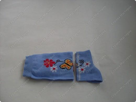 Мастер-класс,  Шитьё, : Сапожки для Снегурочки Носки . Фото 5