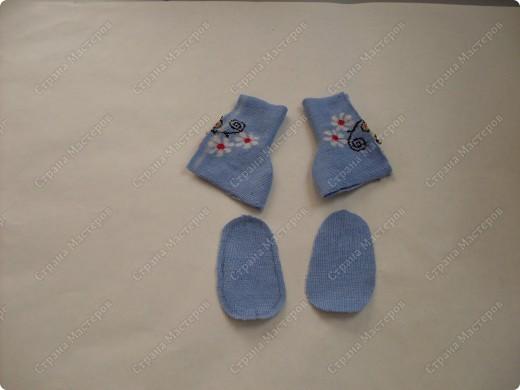 Мастер-класс,  Шитьё, : Сапожки для Снегурочки Носки . Фото 9