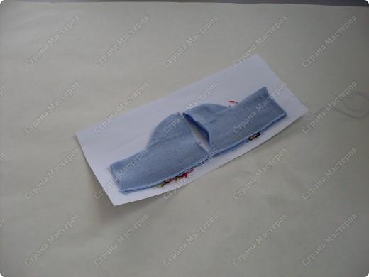 Мастер-класс,  Шитьё, : Сапожки для Снегурочки Носки . Фото 10