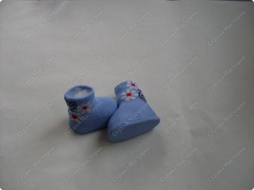 Мастер-класс,  Шитьё, : Сапожки для Снегурочки Носки . Фото 14