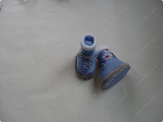 Мастер-класс,  Шитьё, : Сапожки для Снегурочки Носки . Фото 18
