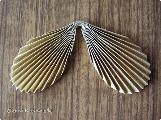 """Мастер-класс, Оригами модульное, : Ангел из модуля кусудамы """"Супершар"""" Бумага Рождество, . Фото 25"""