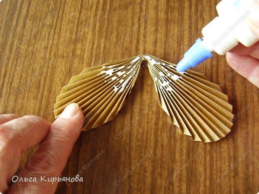 """Мастер-класс, Оригами модульное, : Ангел из модуля кусудамы """"Супершар"""" Бумага Рождество, . Фото 29"""