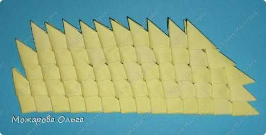 Мастер-класс по модульному оригами: Сборка Самолета.