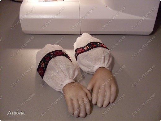 Мастер-класс Шитьё: Ах, ты душечка.... Ткань. Фото 47