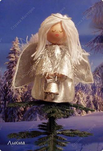 Мастер-класс Шитьё: Пусть ангел жизнь твою хранит... Мастер-класс Материал бросовый Рождество. Фото 1