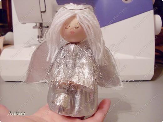 Мастер-класс Шитьё: Пусть ангел жизнь твою хранит... Мастер-класс Материал бросовый Рождество. Фото 22