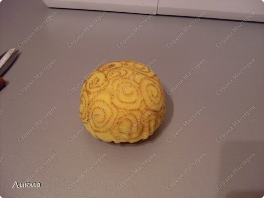 Мастер-класс Шитьё: Игольница-черепашка Танюшка. Материал бросовый. Фото 20