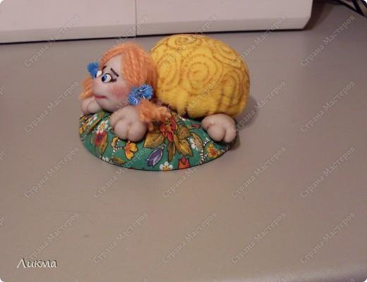 Мастер-класс Шитьё: Игольница-черепашка Танюшка. Материал бросовый. Фото 21