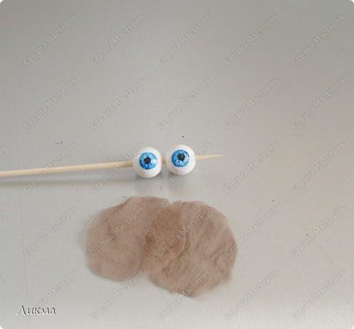 Мастер-класс,  Шитьё, : Кукла-домашка. Часть первая. Личико.... Ткань . Фото 51
