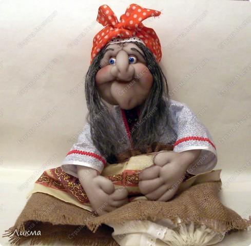 Мастер-класс,  Шитьё, : Кукла-домашка. Часть четвертая. Финиш..... Ткань . Фото 15