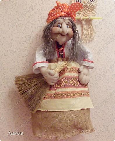 Мастер-класс,  Шитьё, : Кукла-домашка. Часть четвертая. Финиш..... Ткань . Фото 1