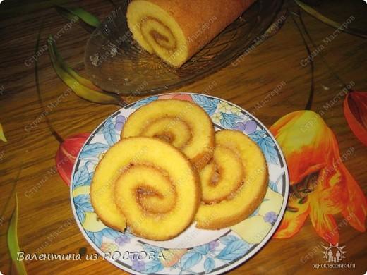 Кулинария Рецепт кулинарный: Лимонный рулет Тесто для выпечки