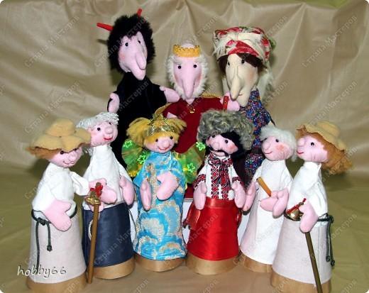 Как сделать куклу своими руками бибабо