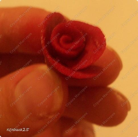 Мастер-класс Лепка: МК розы из соленого теста Тесто соленое Дебют. Фото 10