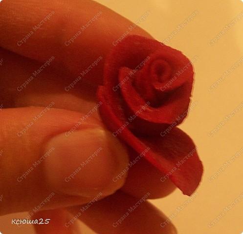 Мастер-класс Лепка: МК розы из соленого теста Тесто соленое Дебют. Фото 11