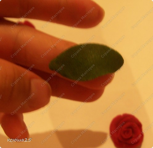Мастер-класс Лепка: МК розы из соленого теста Тесто соленое Дебют. Фото 20