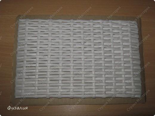 Поделка, изделие Декупаж, Плетение: Шкатулка для рукоделия -11 Бумага газетная, Коробки, Салфетки Отдых. Фото 5