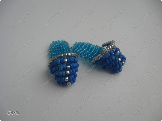 Объемные игрушки из бисера