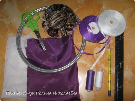 Мастер-класс Вышивка: Сирень.  Ленты. Фото 2