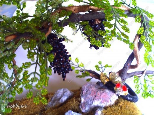 Бисероплетение: Виноград.
