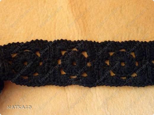 Гардероб Вязание крючком: пояс Нитки Отдых. Фото 2