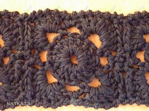 Гардероб Вязание крючком: пояс Нитки Отдых. Фото 3