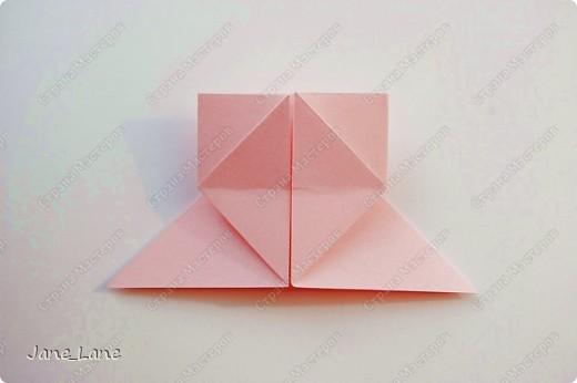 Закладка, Мастер-класс Оригами: Закладка для книги Бумага Начало учебного года. Фото 15