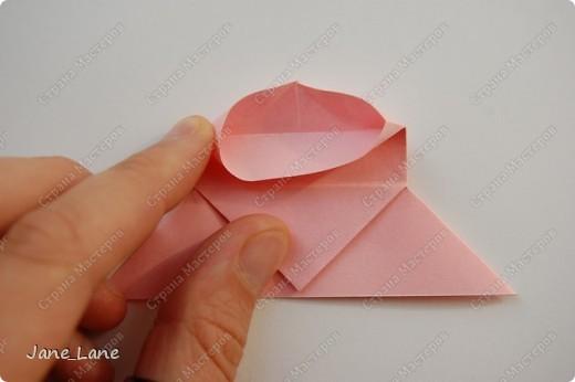 Закладка, Мастер-класс Оригами: Закладка для книги Бумага Начало учебного года. Фото 19